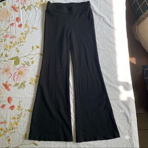 Black Ralph Lauren Knit Pants PETITE SMALL